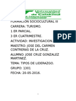 Tipos Liderazgo Jose Cruz Investigacion Turismo 1301