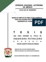 Tesis-Modelos simples de Simulación númerica para soluciones practicas en la ing. de yacimientos.pdf