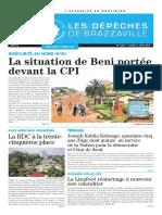La Situation de Beni Portée Devant La Cpi