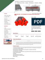 Alloy Steel Bar - Jis Scm440, Din 41crmo4, Astm 4142, Astm 4140