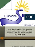 Guia Para Lideres - Trabajo Con Personas Con Discapacidad. Fundacion Sendas