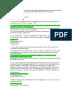 Diseño Curricular - 20 Preguntas