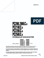 Komatsu PC200-6 Shop Manual