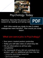 psych research