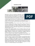 Historia Del Tenis - Tesis Huguito Auto Guard Ado)