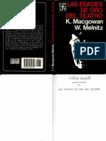 Las Edades de Oro Del Teatro - Kenneth Macgowan y William Melnitz
