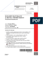 Matura 2016 - niemiecki - poziom rozszerzony - arkusz maturalny (www.studiowac.pl)