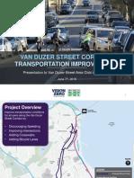 Van Duzer Street Corridor Transportation Improvements