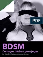 BDSM-Consejos Basicos Para Jugar