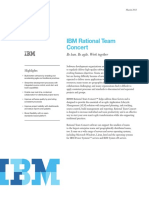Datenblatt IBM Rational Team Concert Engl