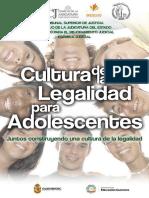 Folleto Cultura de La Legalidad
