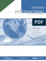 Contexto Internacional Economia_int2016-05 - Banco Central