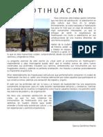 Tarea Teotihuacan