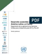 2013-272Rev.1 Desarrollo Sostenible en America Latina y El Caribe WEB