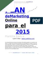Plan de Marketing Online de una Empresa Ejemplo