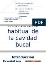 Flora Microbiana Habitual de La Cavidad Bucal