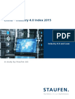 STAUFEN. Studie China Industrie 4 0 Index 2015 En