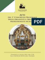 Atti Convegno Organi 2014