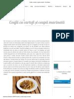 Ceafă Cu Cartofi Și Ceapă Marinată — Adi Hădean