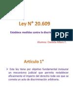Ley N° 20.609