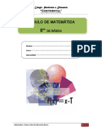 Matemáticas 8 EBG