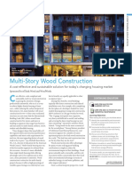 Multi Story Wood Construction
