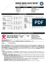 06.08.16 Mariners Minor League Report