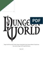 Dungeon World DM Screen