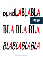 Abechedario Silablado 3 BLA Bicolor