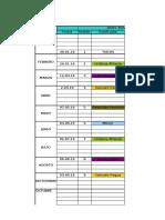 Cronograma de Fechas y Facilitacion de INGEDHIV 2016