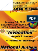MELJUN CORTES - HCCB Japanese Contest Program 2010 (HOLY CHILD COLLEGES OF BUTUAN)