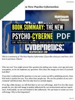 Book Summary_ the New Psycho-Cybernetics