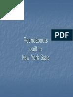 New York Roundabouts