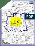 dallas-ft  worth dma map