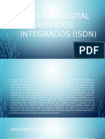 RED DIGITAL DE SERVICIOS INTEGRADOS (ISDN)