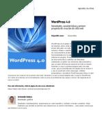 Wordpress 4 0