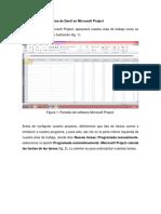 Tutorial Diagrama de Gantt en Microsoft  Project