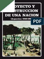 Proyecto y construcción de una Nación.