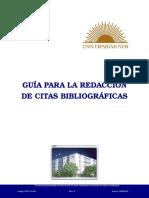 guia Para La Redacción de Citas Bibliográficas
