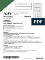 Aqa Ms Ss1b Qp Jun12