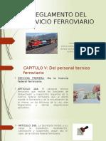 Reglamento Del Servicio Ferroviario