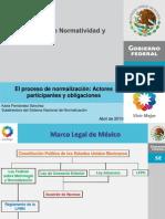 El Proceso de Normalización (Secretaría de Economía)