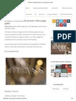 Brillante Cristal Efecto de texto + Descargar gratis _ Textuts.pdf