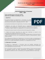 Manual Organizaciones