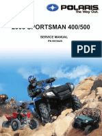 2005 Polaris Sportsman 400 500 Service Manual NoPW