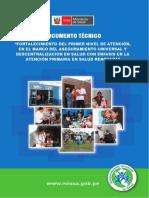 Documento Técnico, Fortalecimiento del Primer Nivel de Atención, RM N° 520 2010 MINSA.pdf