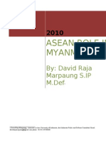 ASEAN Role in Myanmar