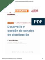 Desarrollo y Gestión de Canales de Distribución