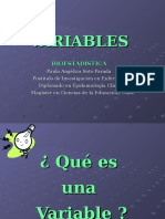 Variables Clase