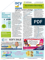 Pharmacy Daily for Thu 09 Jun 2016 - Xenophon, Greens pledge, Drug-seeking behaviour, Leading Pharmacy Innovation, Travel Specials and much more
